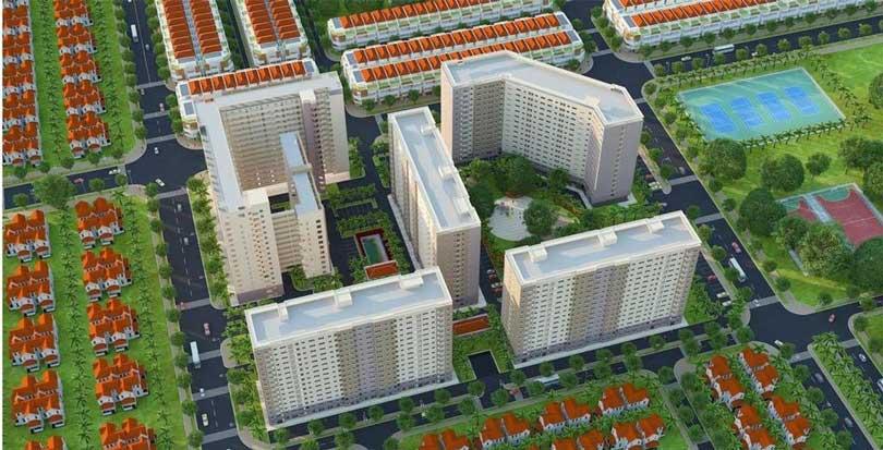 Phối cảnh căn hộ Green Town Bình Tân