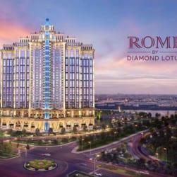 Phối cảnh căn hộ Rome by Diamond Lotus