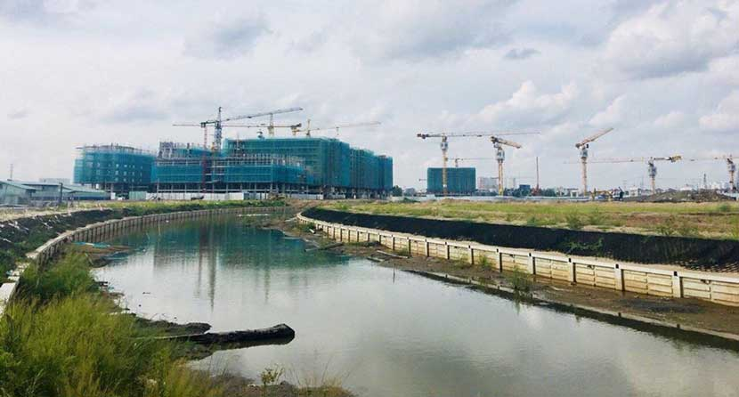 Hình ảnh tiến độ dự án Mizuki Park