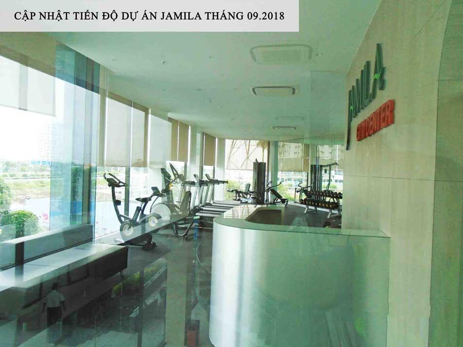 Clubhouse và phòng Gym Jamila khang Điền