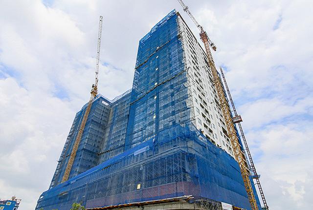 Photo of Tiến độ xây dựng căn hộ Moonlight Residences tháng 9/2018