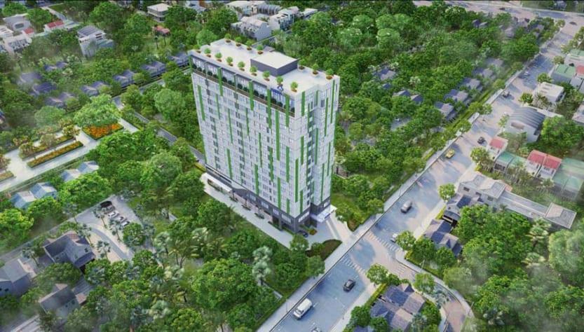 Phối cảnh căn hộ Harina View