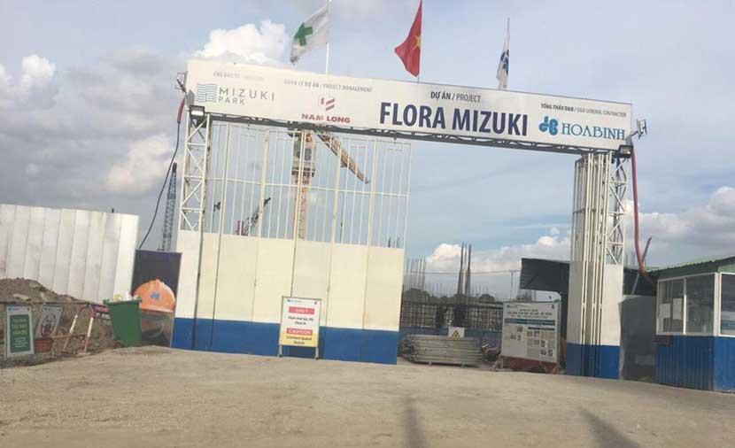 Khu dự án Flora trong dự án Mizuki