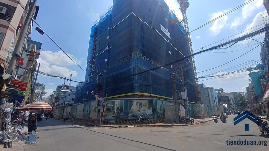Tiến độ căn hộ Ventosa tháng 05/2019