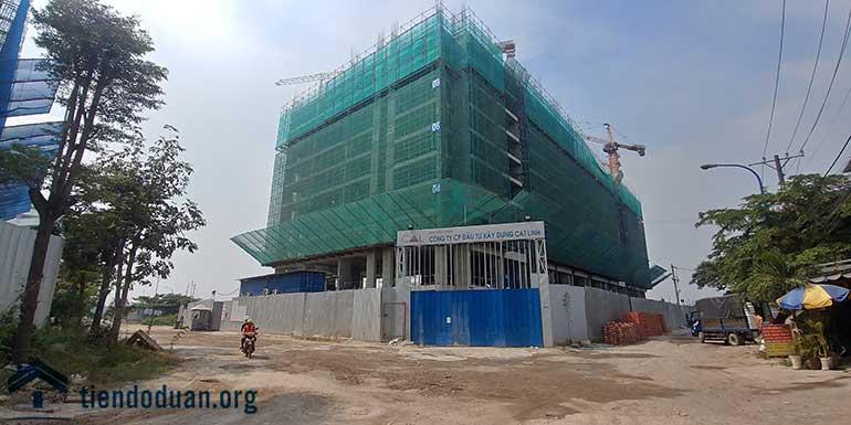 Tiến độ dự án căn hộ CTL Tower tháng 12