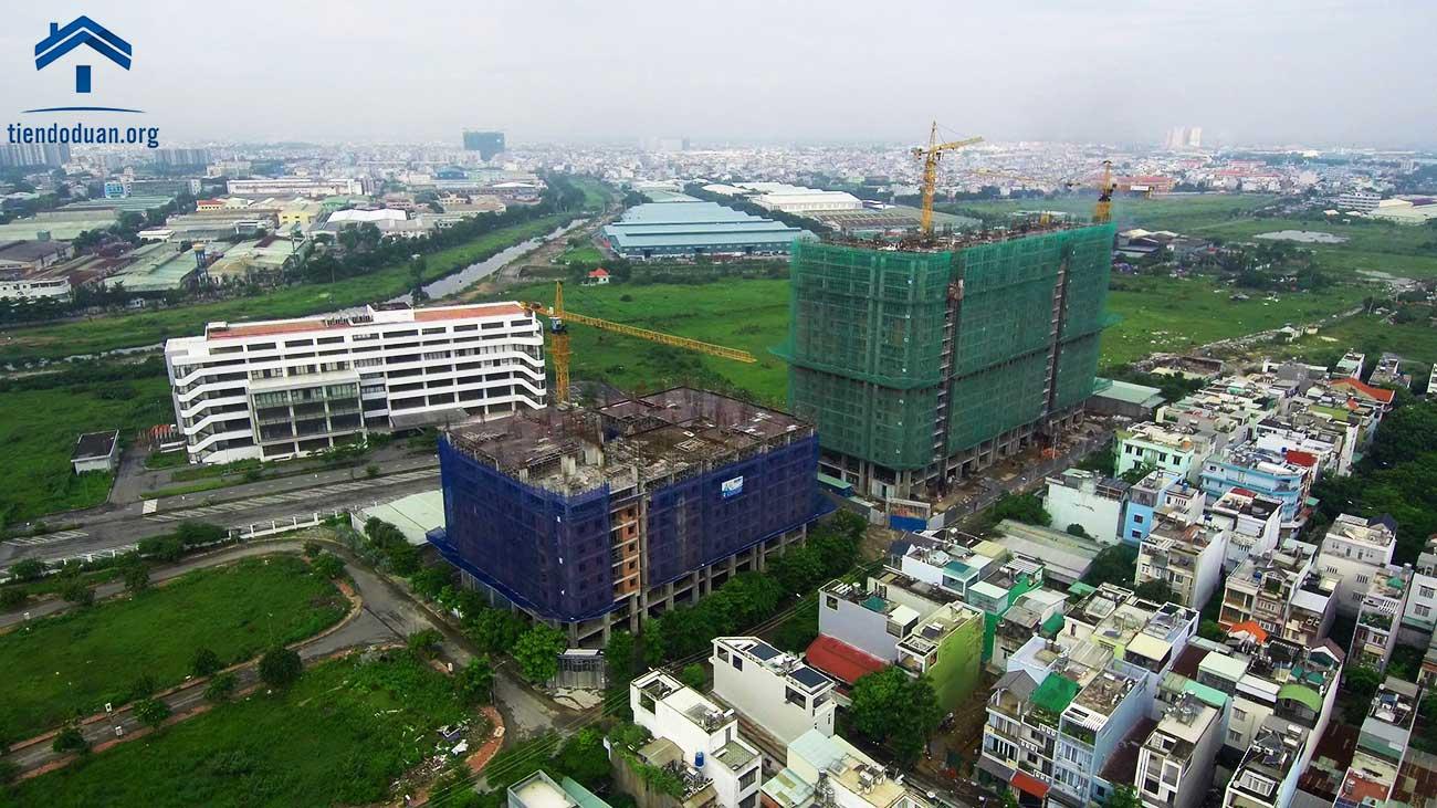 Tiến độ dự án CTL Tower và STown Tham Lương