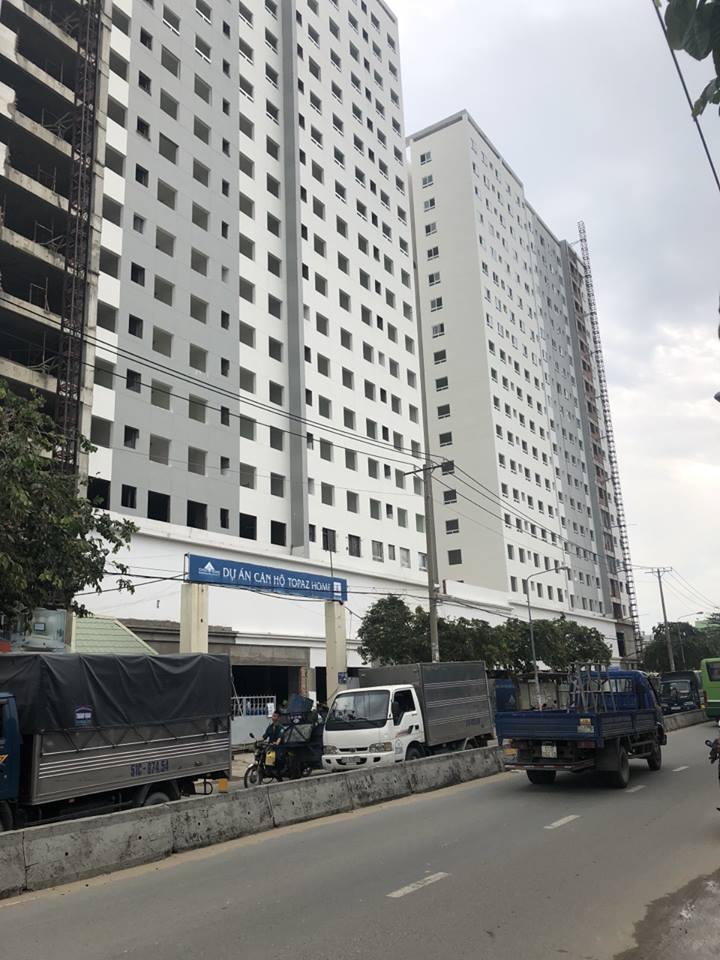 Photo of Tiến độ xây dựng căn hộ Topaz Home Quận 12 tháng 9/2018