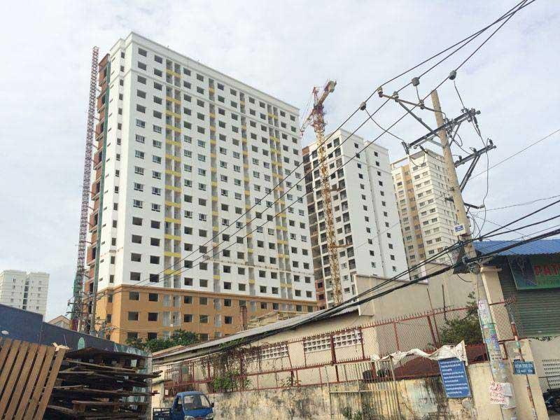 Photo of Tiến độ xây dựng căn hộ IDICO Tân Phú tháng 7/2016