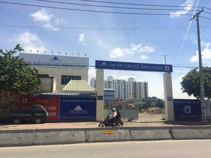 Photo of Cập nhật tiến độ xây dựng căn hộ Topaz Home Quận 12
