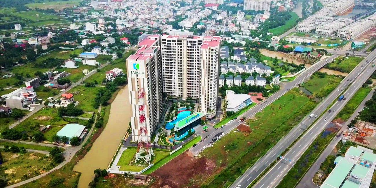 Toàn cảnh dự án Jamila Khang Điền