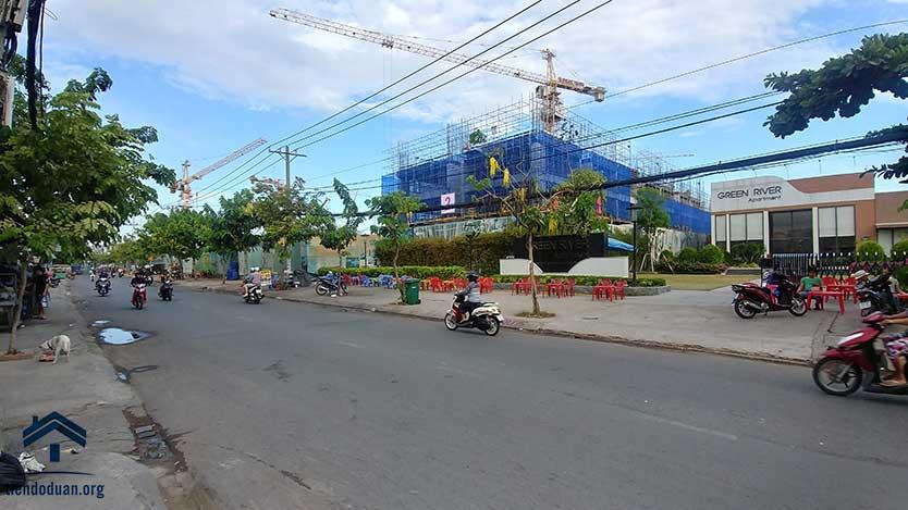 View dự án từ đường Phạm Thế Hiển