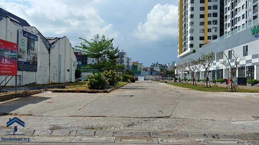 Đường 61 dự án Viva Riverside