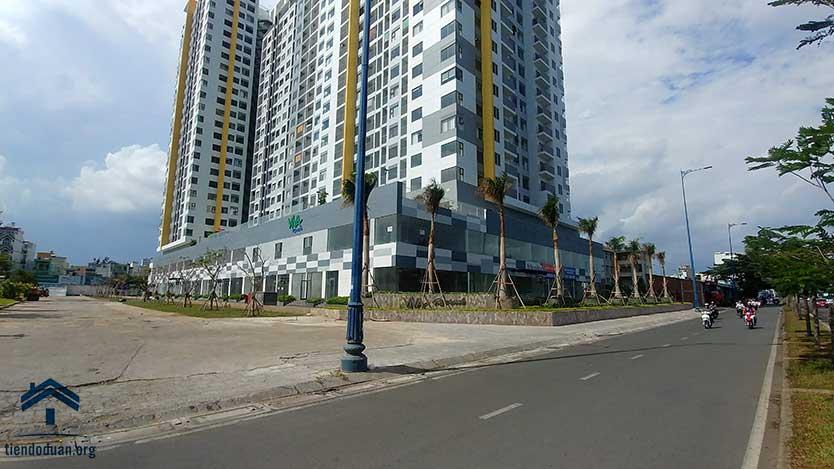 Góc đường Võ Văn Kiệt và dự án Viva Riverside