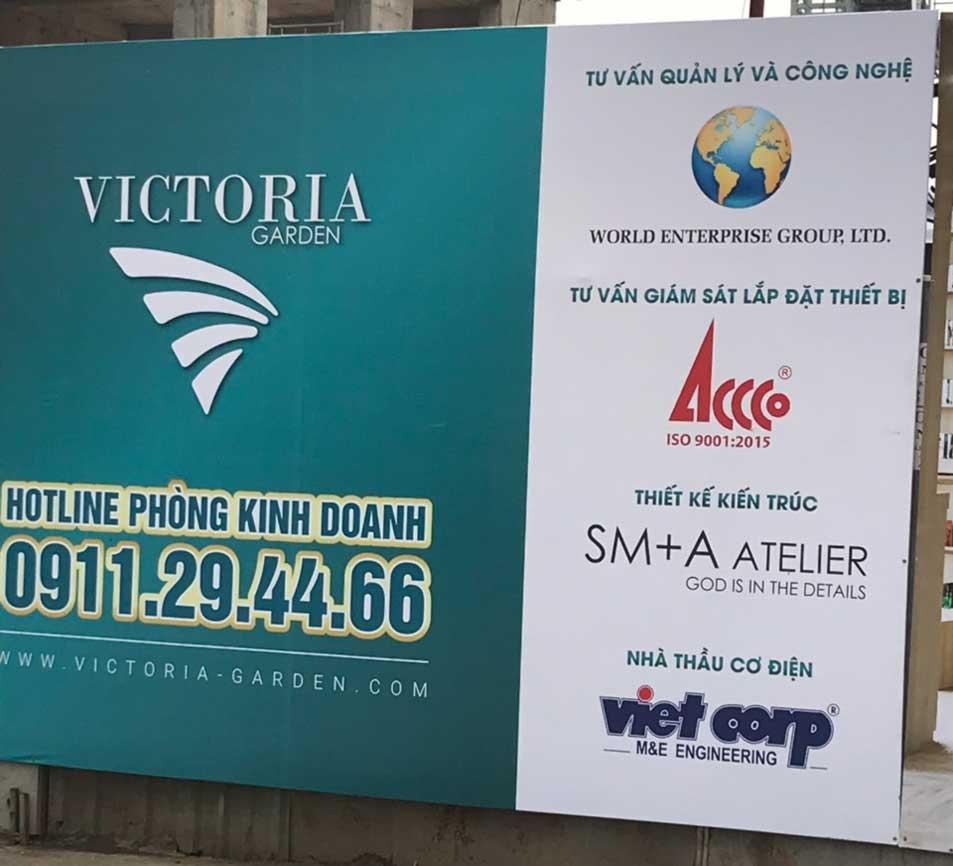 Đối tác phát triển dự án Victoria Garden