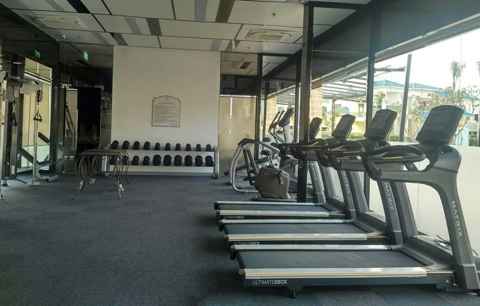 phòng gym, may chay bo, phong the hinh
