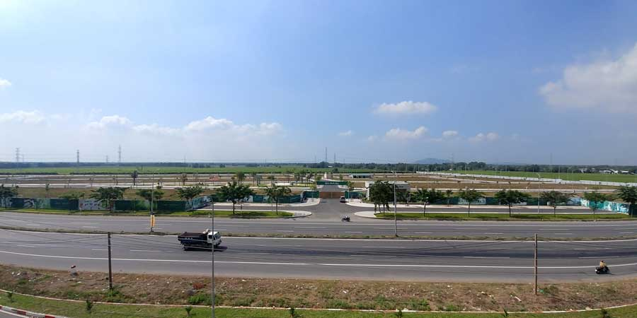 1 góc dự án Baria City Gate
