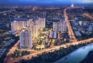 Phối cảnh dự án căn hộ Pi City