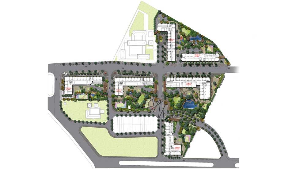 Tổng thể thiết kế dự án Pi City