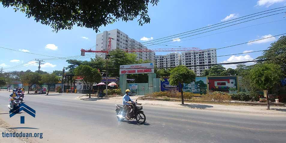View dự án từ đường Lê Văn Khương