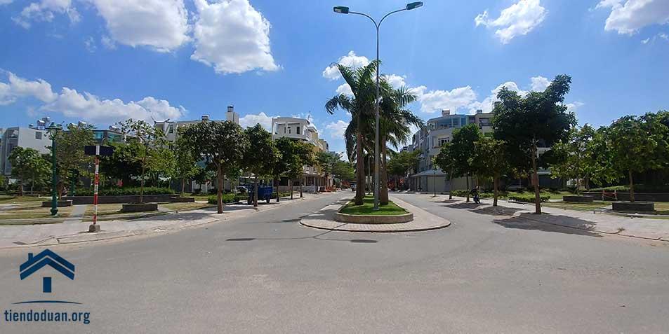 Khu dân cư, công viên, cây xanh tại Hiệp Thành City