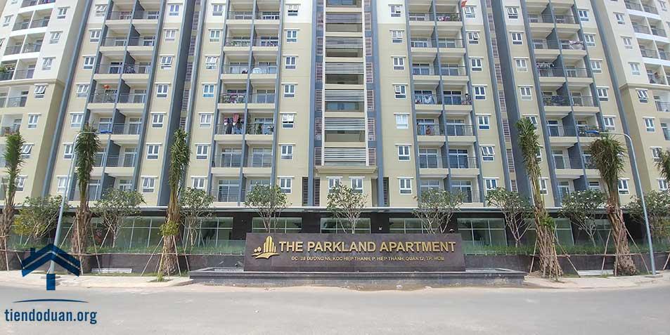 Mặt tiền dự án The Park Land