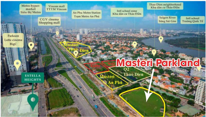 Photo of Thông tin, đánh giá căn hộ Masteri Parkland quận 2