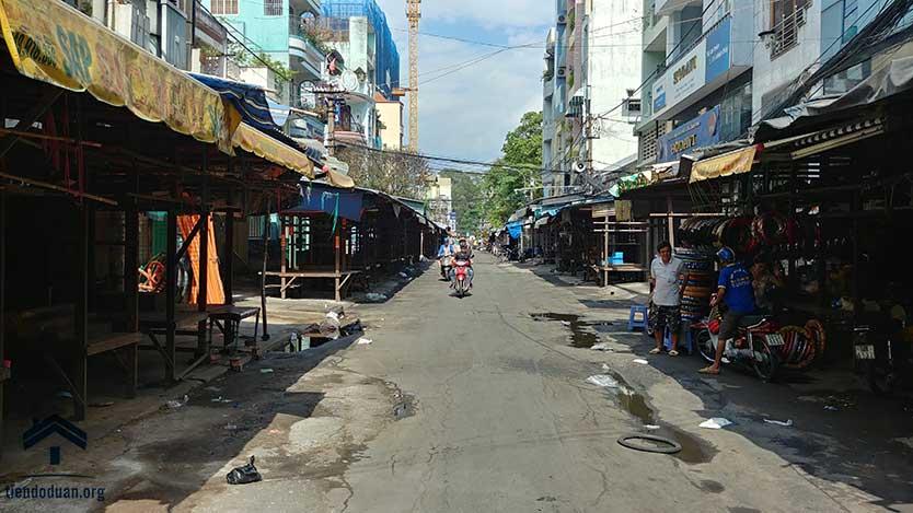 Chợ Tân Thành trước dự án Ventosa