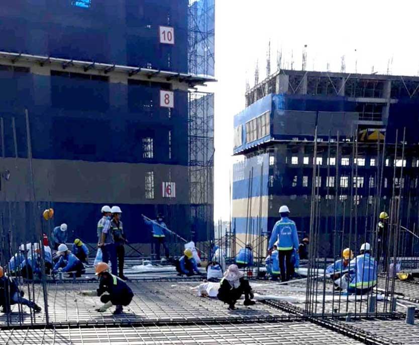 Hình ảnh công trường dự án NOXH Imperial Place