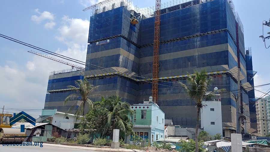 Tiến độ căn hộ Imperial Place Bình Tân