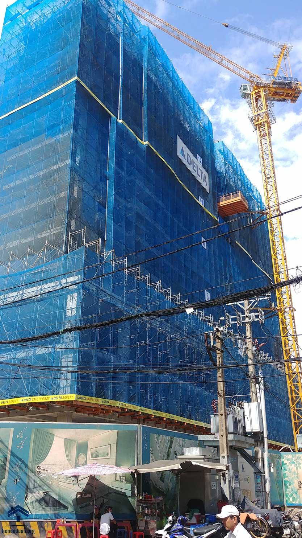 Tiến độ dự án căn hộ Ventosa đến tầng 14