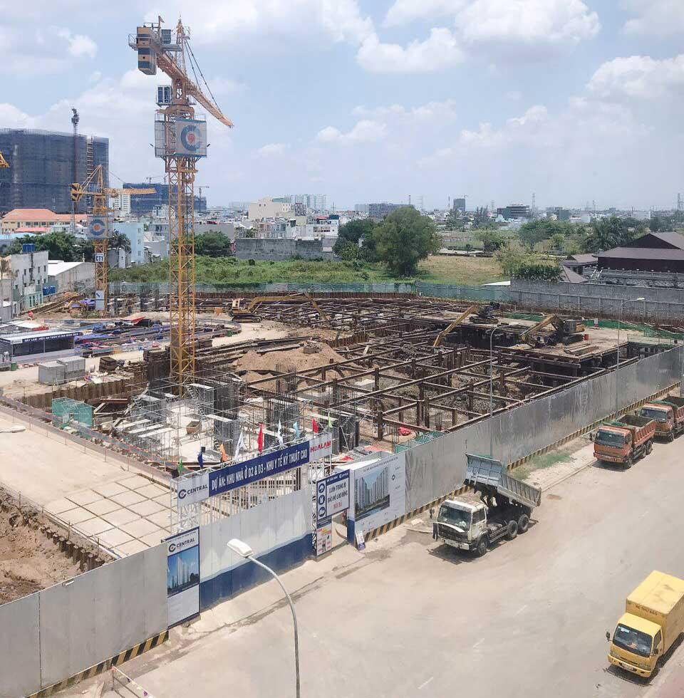 Tiến đô dự án AIO City Bình Tân