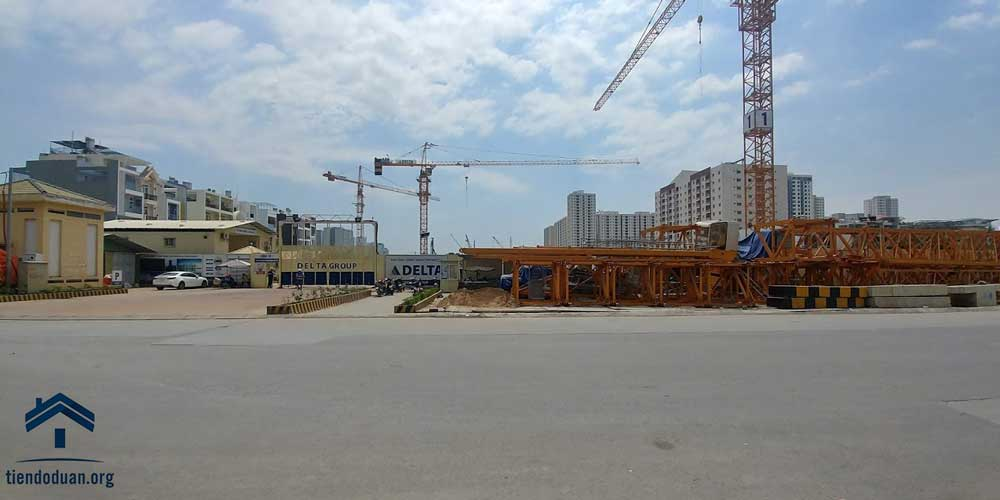 Hình ảnh tiến độ dự án Laimian City