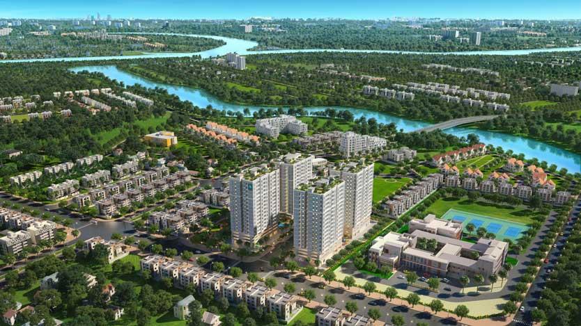 Phối cảnh toàn khu dự án Mường Thanh Gò Vấp