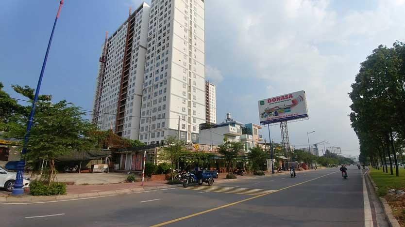 Saigon Gateway và đường Song Hành
