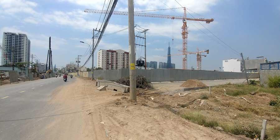 Đường Lương Đình Của và dự án Laimian City