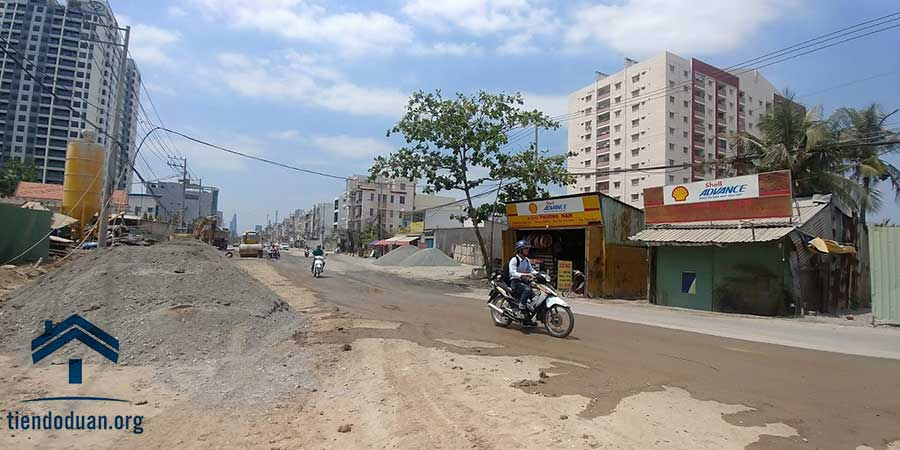 Toàn cảnh khu dân cư An Phú An Khánh đường Lương Đình Của