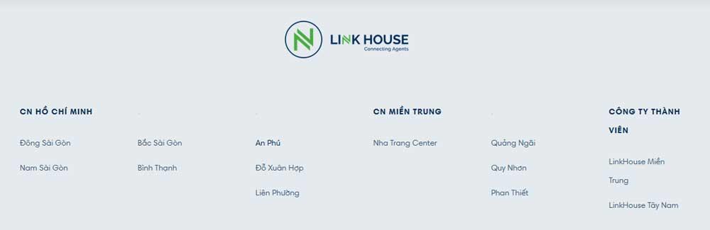 cơ cấu công ty Linkhouse