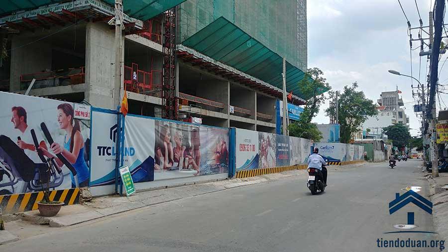 Toàn cảnh dự án căn hộ Carillon 7