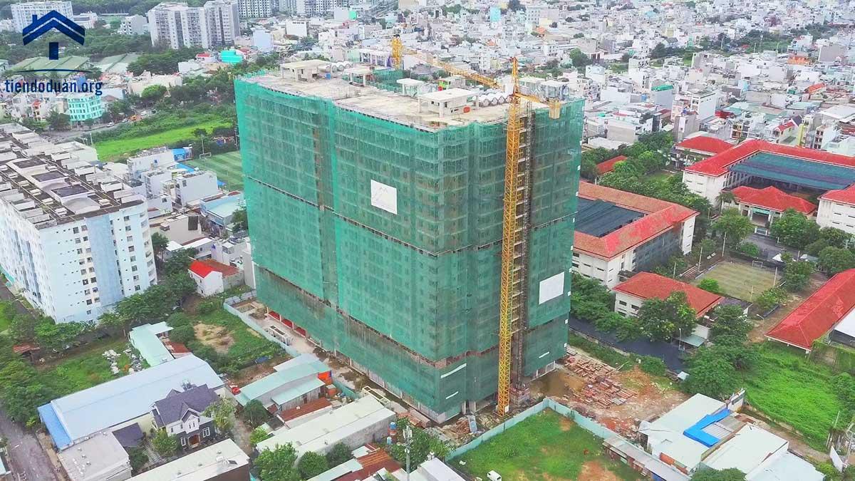 Tiến độ dự án Kingsway Tower tháng 08/2020
