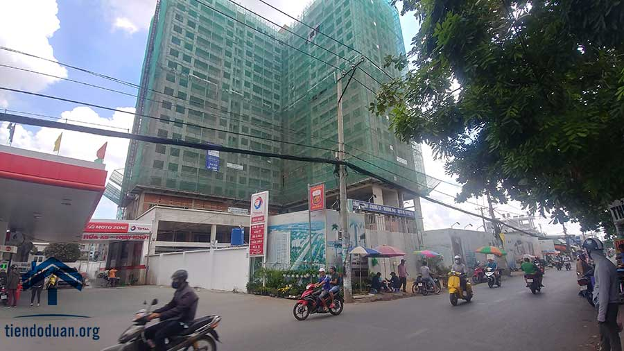 Tiến độ dự án căn hộ Goldora Plaza tháng 06/2019