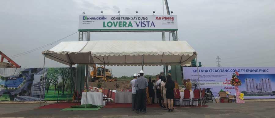 Lễ động thổ dự án Lovera Vista Bình Chánh