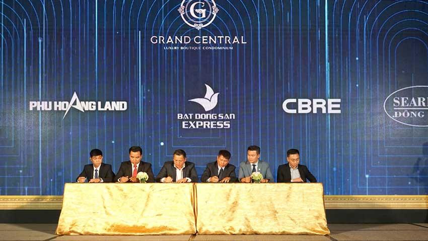 Đối tác phân phối dự án Grand Central