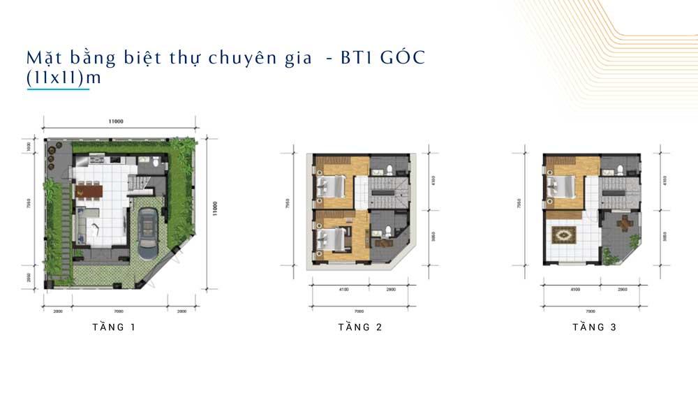 File thiết kế biệt thự 11x11 dự án Q9 Central Point