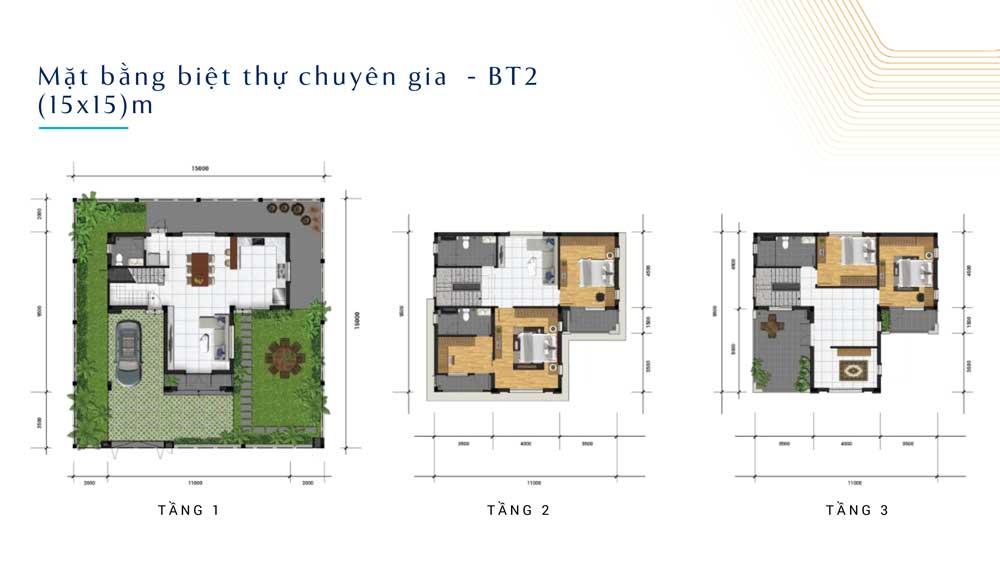 File thiết kế biệt thự 15x15 dự án Q9 Central Point