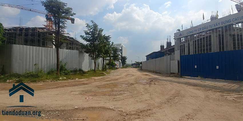 Tuyến đường giữa CTL và STown Tham Lương