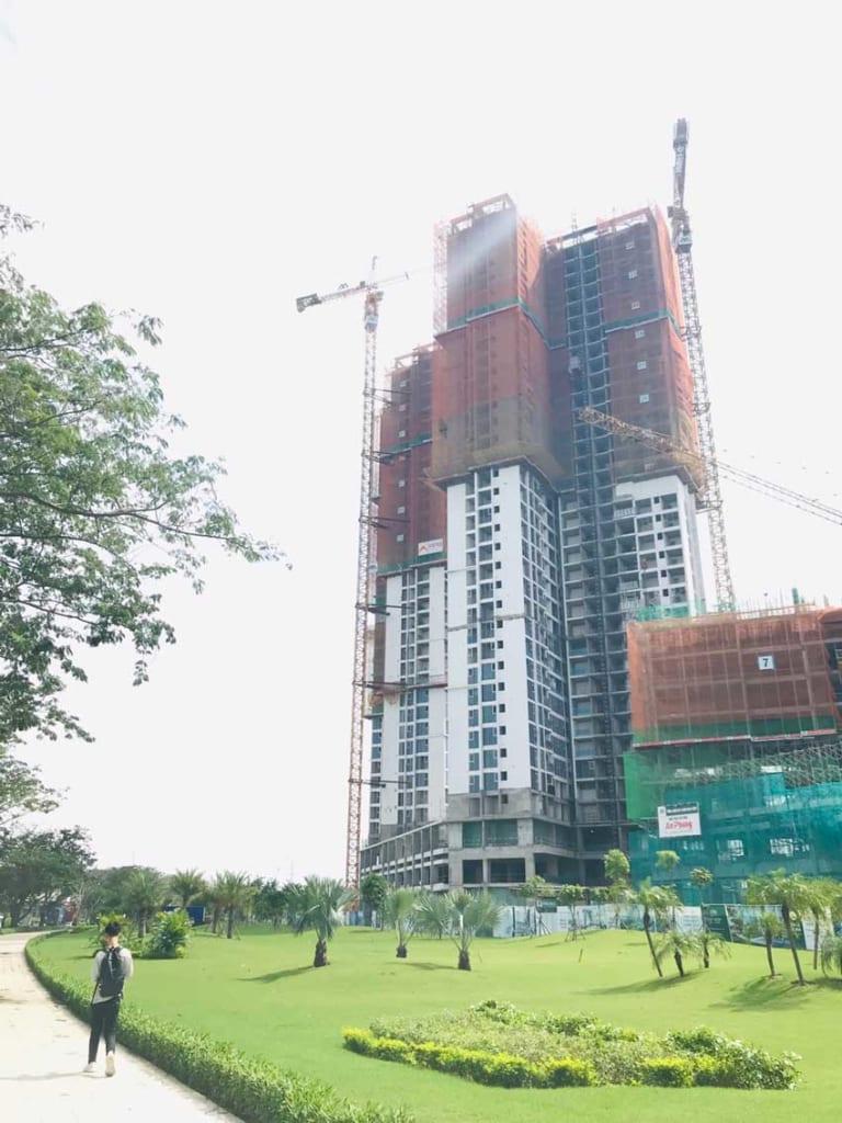 Tiến độ dự án Eco Green Sài Gòn