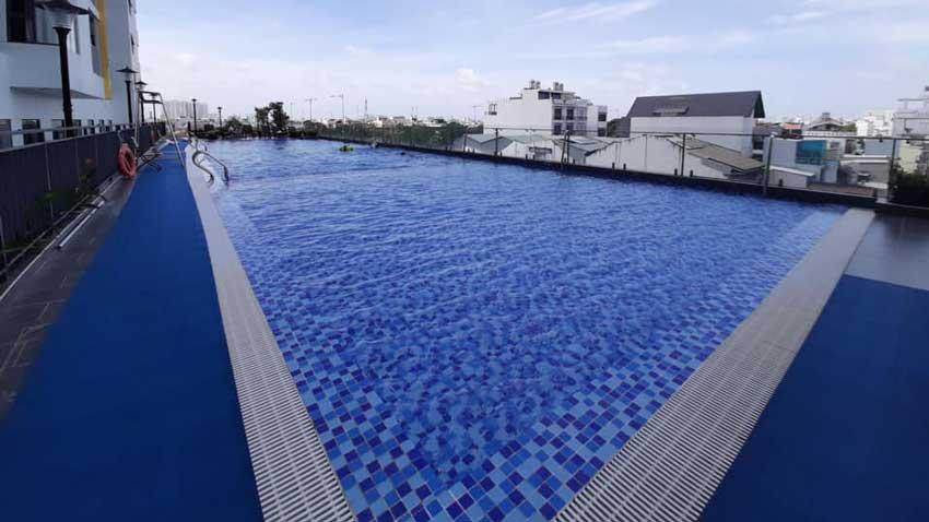 Hồ bơi tại dự án Viva Riverside