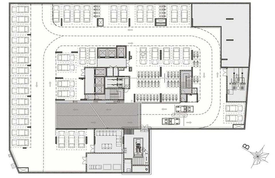 Thiết kế tầng hầm dự án