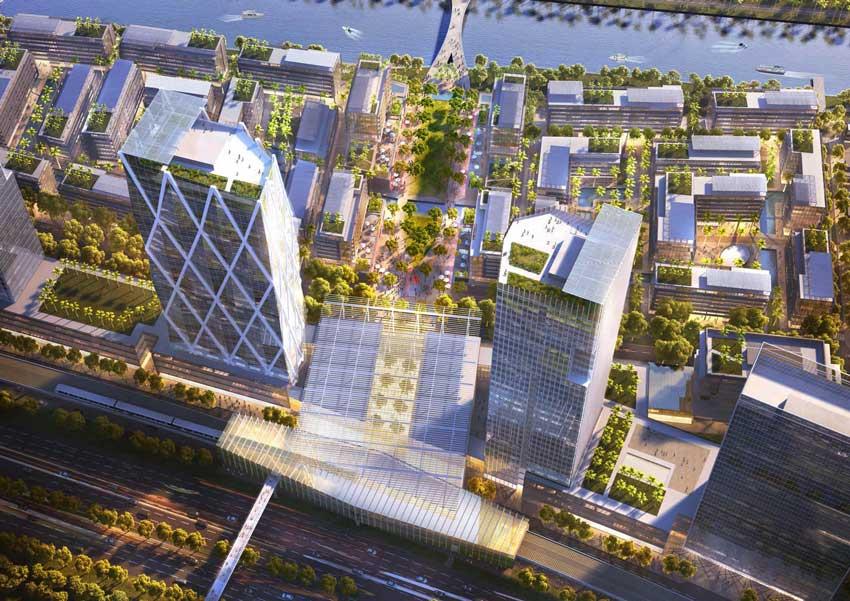 Cao ốc văn phòng tại dự án River City
