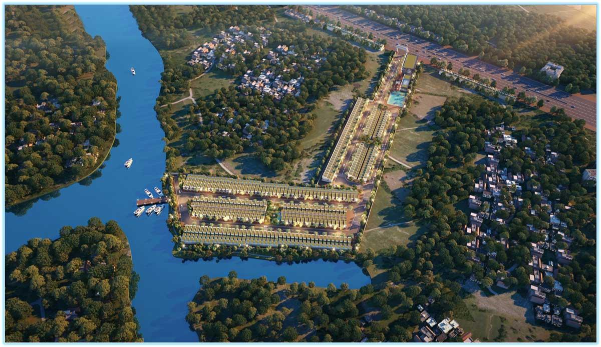 Phối cảnh dự án Thanh Niên Mekong City